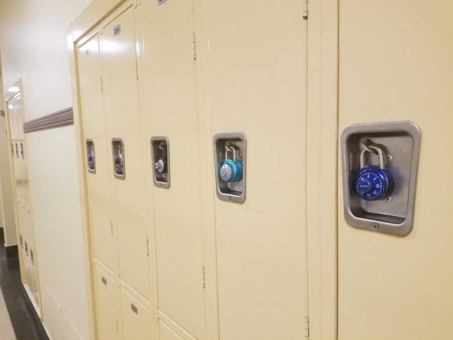 Use your locker to stay organized during the day, and make sure that you don't carry around too much stuff.