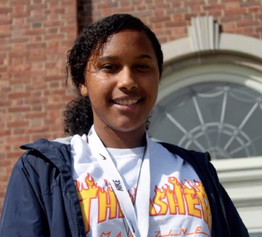 """""""My favorite thing to do in Cincinnati is going shopping at Kenwood Mall with my friends."""" - Valencia James, '19"""
