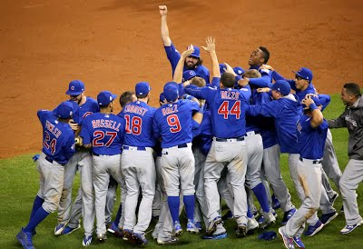 Cubs beat curse, win World Series