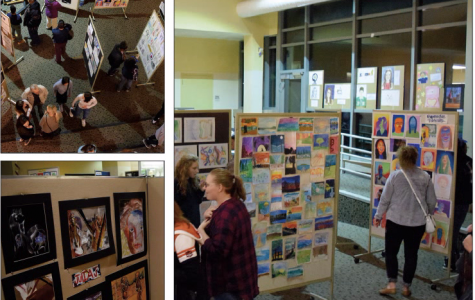 Fall Art Show; Making a Statement Through Artistic Means