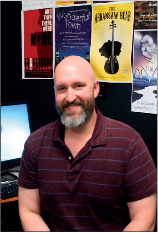 Michael Sherman, a drama and stagecraft teacher, helps run and manage the productions at WHHS. Students interested in the theater program can find Sherman in Room 2506.