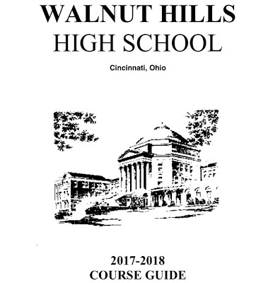 For more information, refer to the Walnut Hills course guide, which goes more in dept about other classes students entering 9th grade may take.