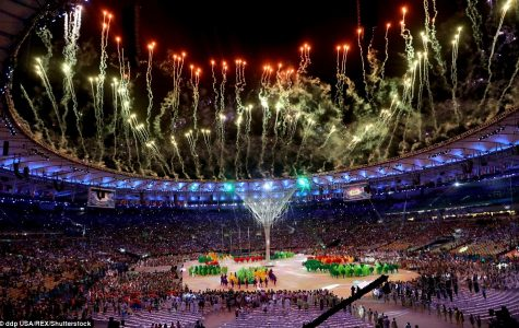 The Opening Ceremony during the Rio Games this summer.