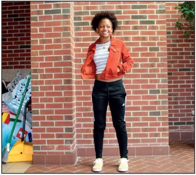 """SENIOR Tevonna Bonner said that her style makes her feel """"confident, bold and I always feel pretty."""" She also said that """"Lil Uzi, (SENIOR) Caleb Streat and Kehlani"""" inspired her fashion choices."""