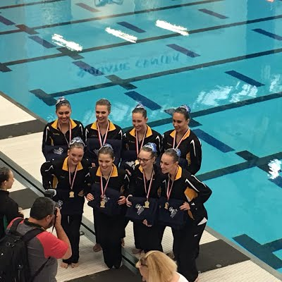 Synchronized Swimming to Nationals