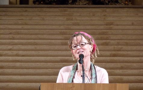 Author Anne Lamott shares her philosophy at WHHS book talk