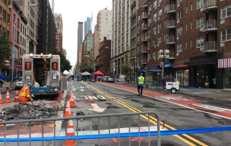 Terrorist attacks shut down 26th street in Manhattan, New York City.