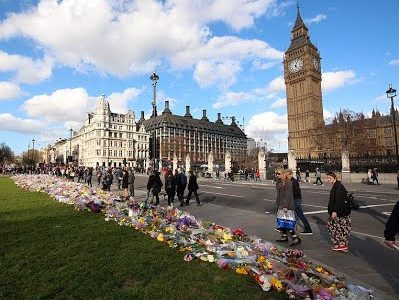 Hundreds payed their respects to the four killed after the Westminster Attack this week in London. A man ran over dozens outside Parliament, then exited his vehicle and stabbed a police officer. The attack brought vivid memories of the 2005 London Bombings, which killed 52 civilians.