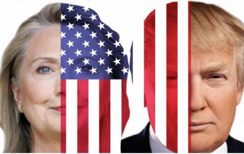Hillary Clinton (D) and Donald Trump (R) are the front runners for the 2016 presidential election.