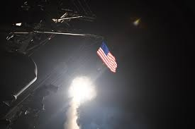 US Navy warships launched 59 Tomahawk missiles at a Syrian airbase. The missiles costed nearly $70 million.