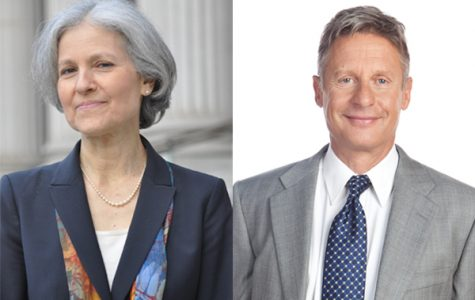 Candidates Jill Stein and Gary Johnson.
