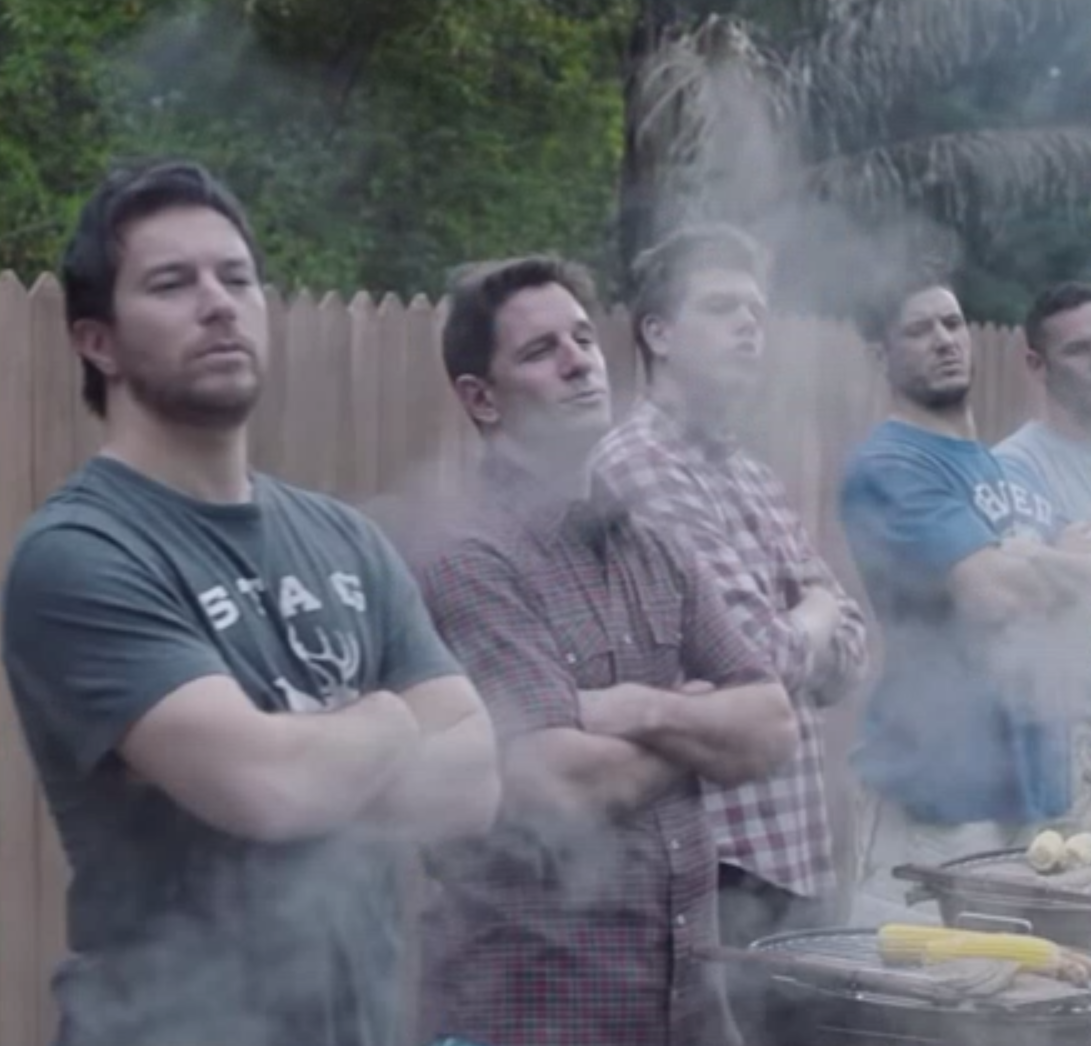 """The Gillette advertisement features footage of men at a grill, repeating the words """"boys will be boys."""" This mantra is frequently used to justify the sometimes inappropriate actions of young men and boys."""