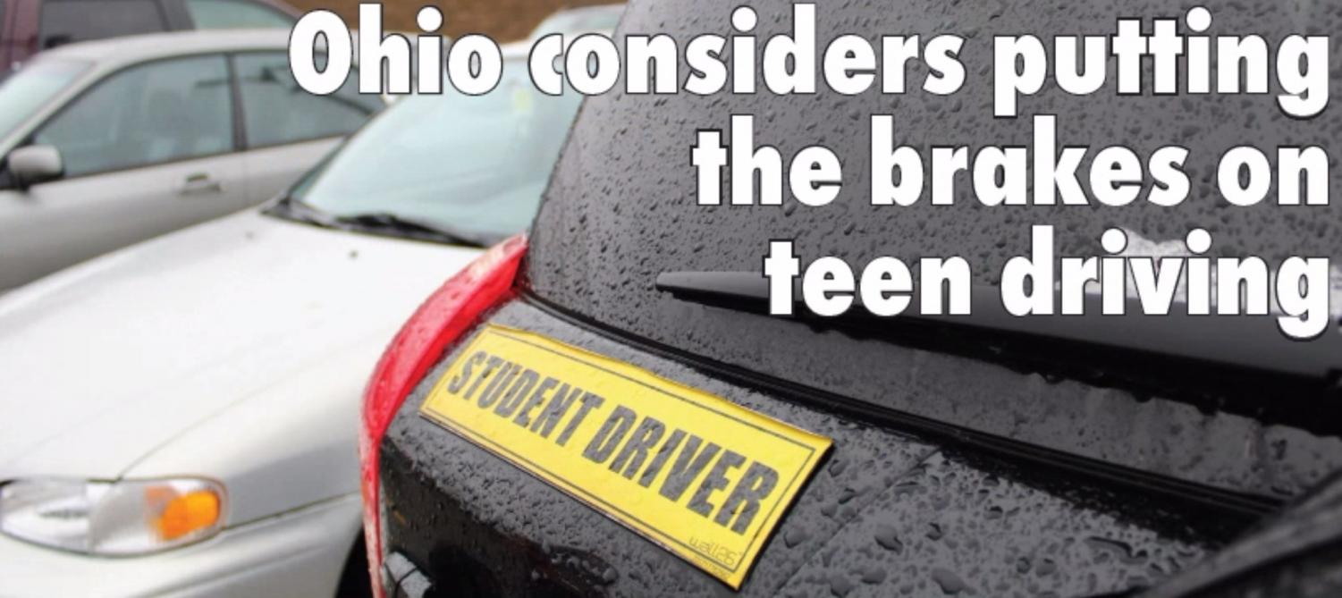Really 16 Is Appropriate Age To Allow >> Ohio Considers Putting The Brakes On Teen Driving The