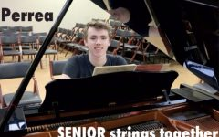 SENIOR Daniel Perrea strings together short films and music scores