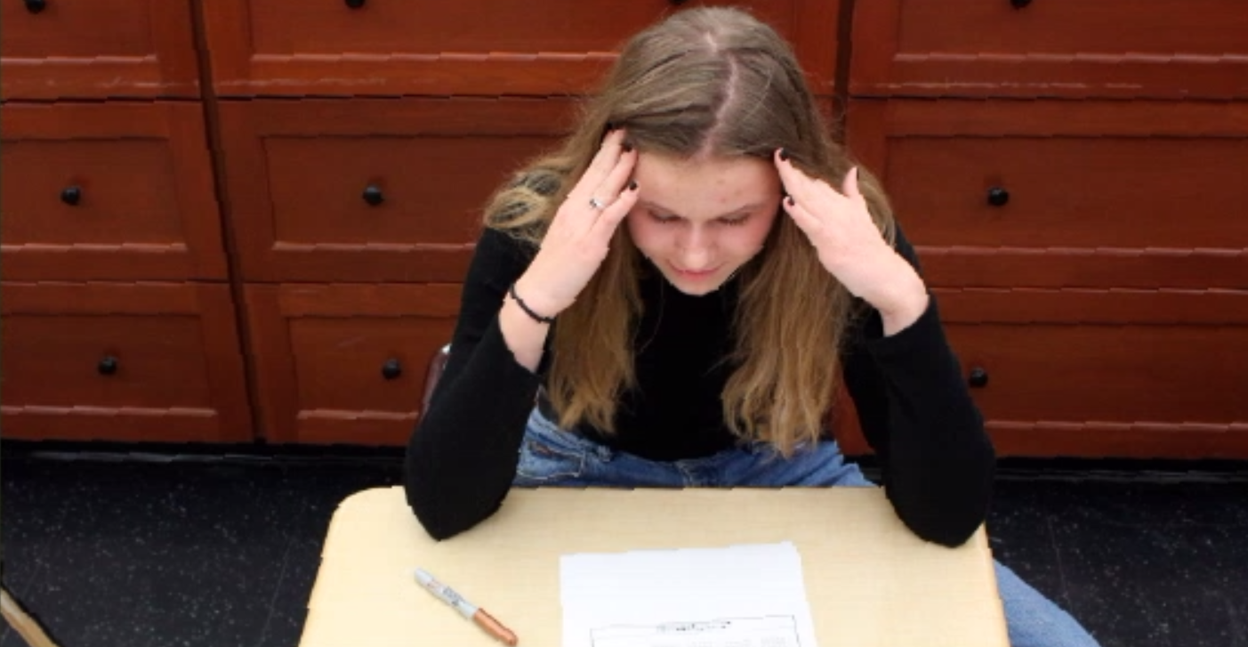 Ella Morris, '22, sometimes feels overwhelmed with the daily stresses of student life. However, there are many ways to counteract this stress such as utilizing good study habits, a healthy sleep schedule and diet and knowing when to take breaks.