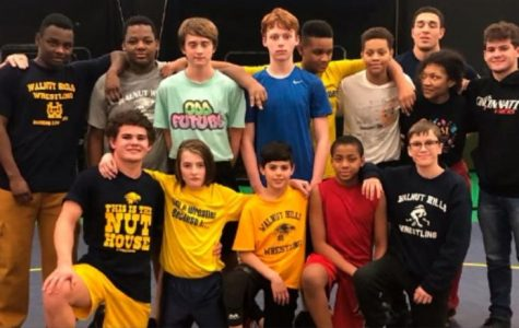 Junior high wrestlers ready to rumble