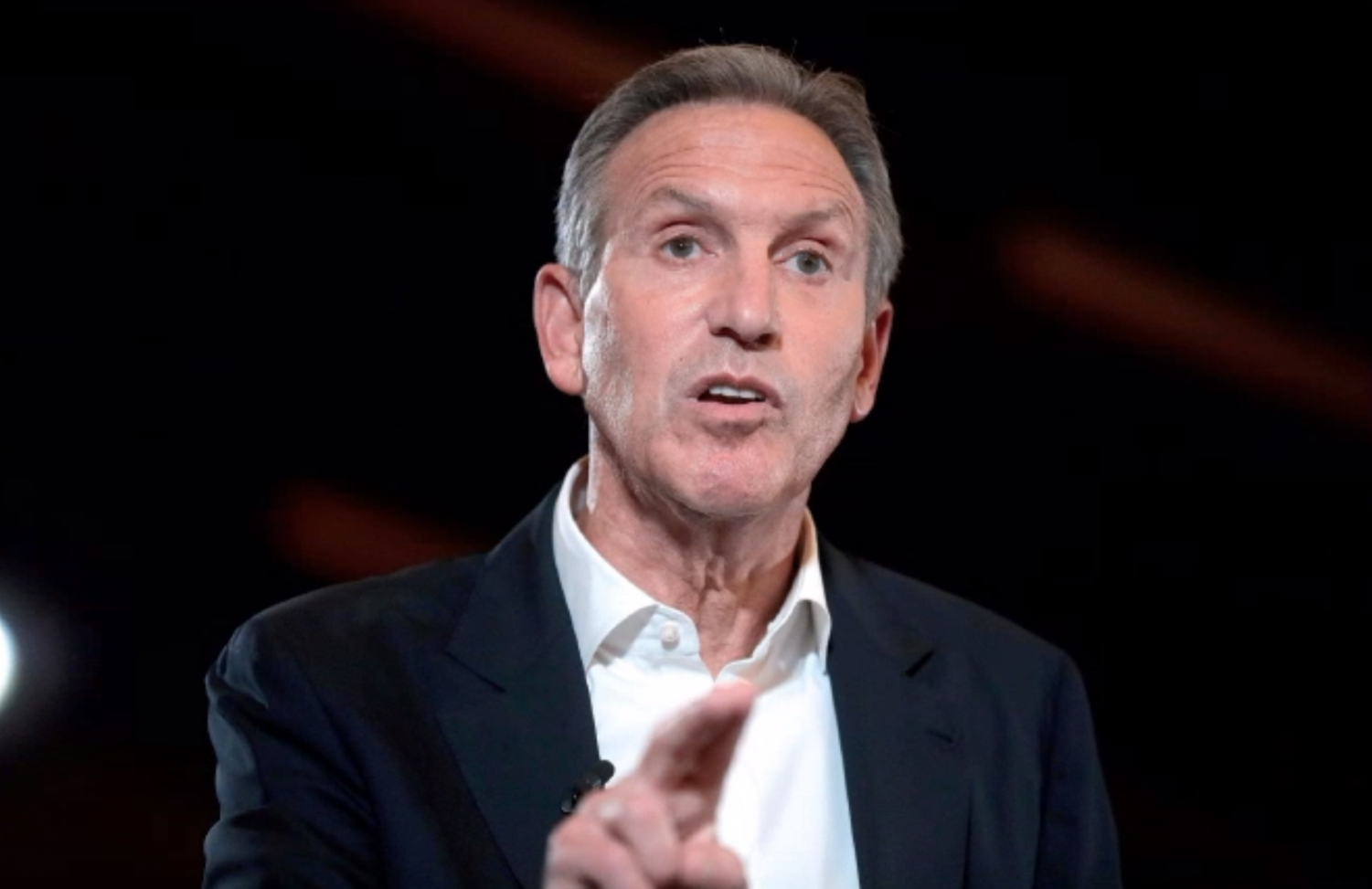 """Howard Schultz was the CEO of Starbucks and is a possible 2020 independent presidential candidate. Schultz told Real Clear Politics that """"I don't affiliate myself with the Democrat Party."""""""