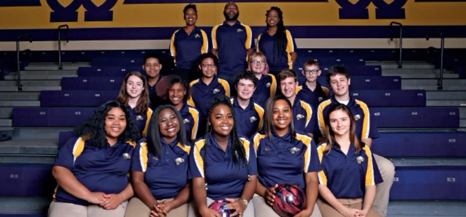 The WHHS Bowling Team has been determined to remain positive throughout their 2019 season. The team is led by head coach Ryan Worthen as they aim to lift each other up individually and as a team.