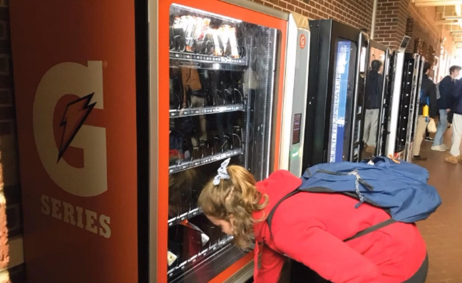 There are two Gatorade vending machines placed throughout the school, one in the Arcade and one next to the locker rooms under the Junior High Gym. The machines were installed in December 2018 as a part of a sponsorship between the WHHS Athletic Department and Gatorade.