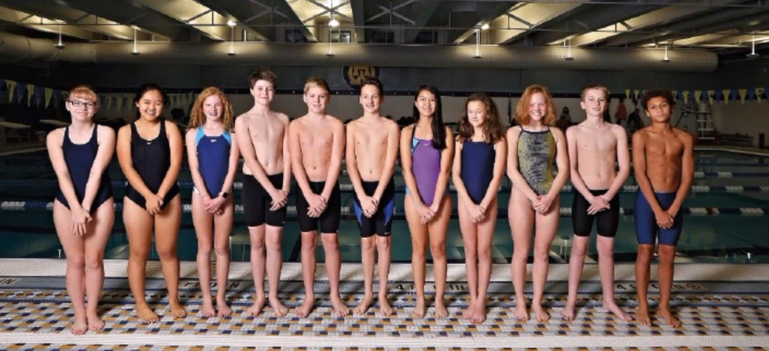 The WHHS Junior High Swim Team became the city-wide champions after winning first place in seven events. Three of the 27 WHHS junior high divers also placed in the top 10 city-wide.