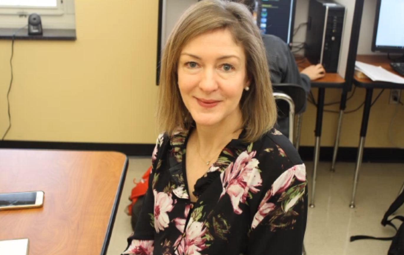 "Kate Burroughs strongly believes in what the Writing Center does, and it's importance to the students at WHHS. ""This is the time for students to get the practice and enhance their skills,"" Burroughs said."