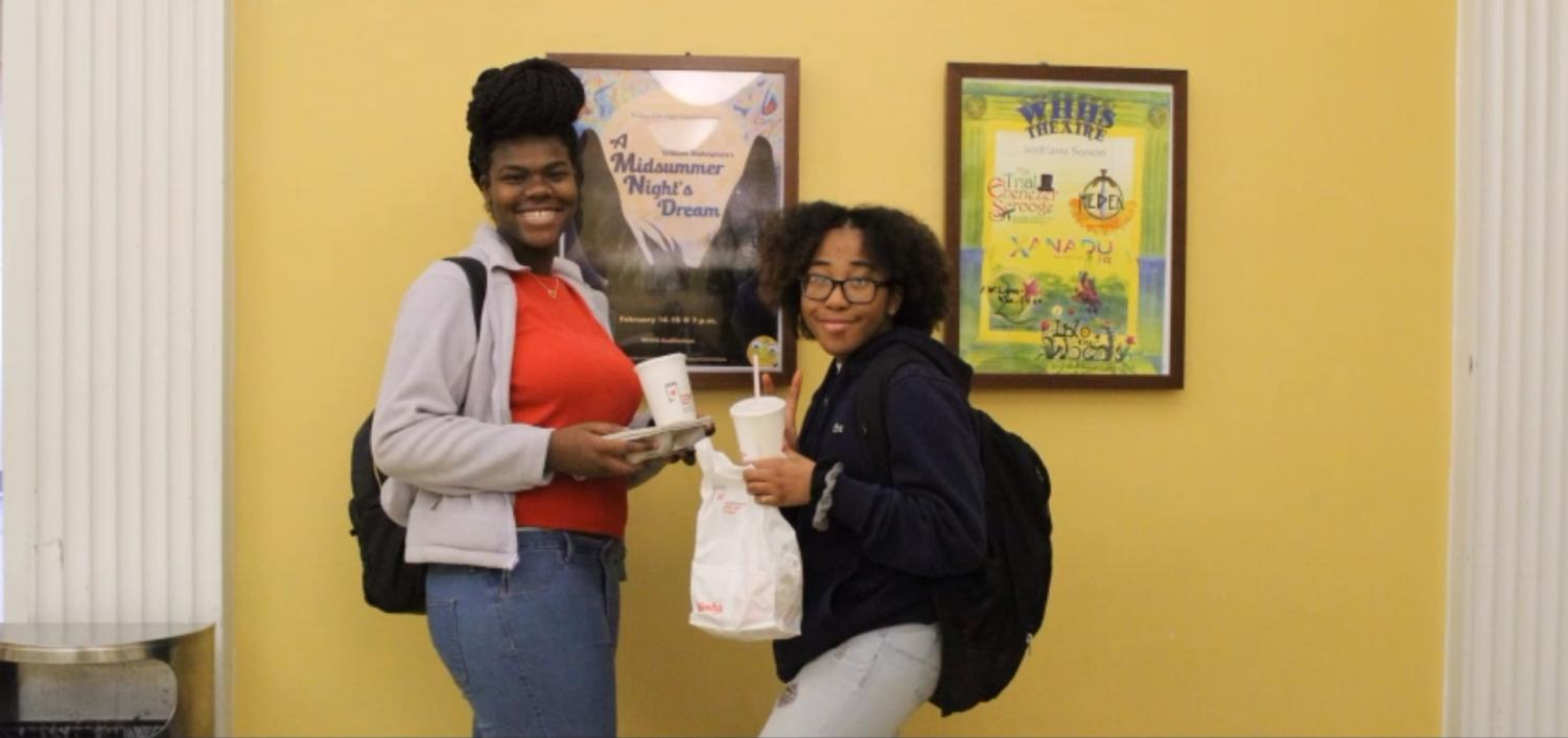 """What My'Dia Cruz,'22 and Yazmeen Campbell, '22 like most about their natural hair is the versatility and expression. """"I like that I can do whatever I want with it,"""" Cruz said. """"If I want to go to the beach all I have to do is get box braids."""""""