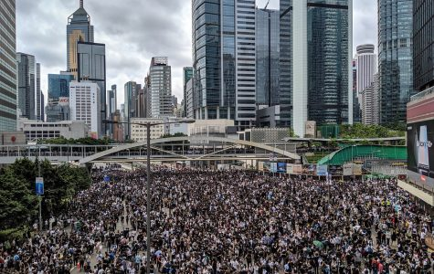 Hong Kong protesters take to the streets in opposition of the extradition bill. People have been protesting the bill since March.