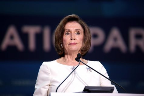 "Speaker of the House, Nancy Pelosi, is a key figure in the impeachment process. ""This is a possible dangerous impact of impeachment and one that Speaker of the House, Nancy Pelosi, was thoughtful of. If the Senate votes to not remove Trump, this would have a consequence of changing the narrative of Trump's improper conduct in the media,"" SENIOR Lydia Graves said."
