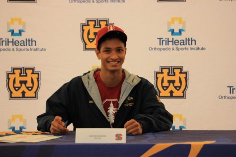 SENIOR Aaron Sequeria committed to swim for Stanford University