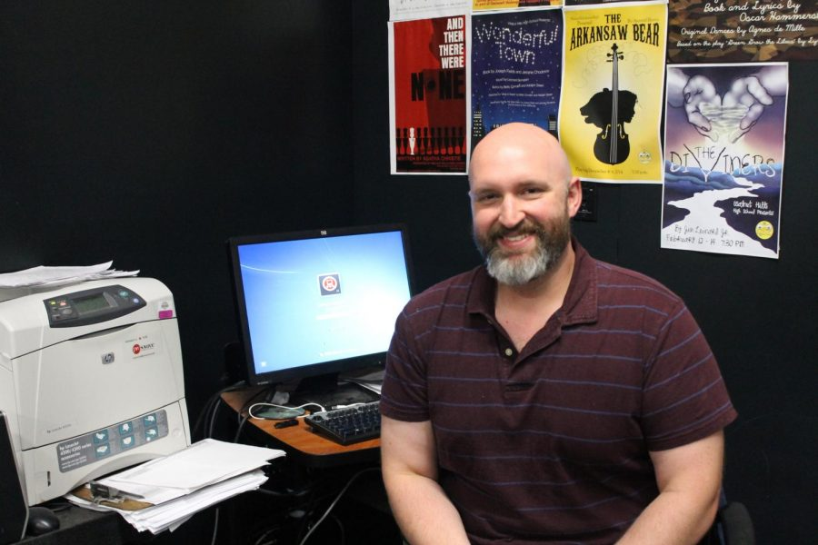 Michael Sherman, the Fine Arts Department Chair and theatre teacher, is working with other teachers to arrange remote learning plans for Fine Arts classes.