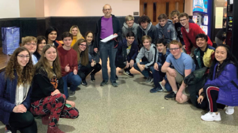 Students who participated in the UC Math Bowl gather around Dr. William Gordon, the club advisor of the WHHS Math Team. The team was made up of students from outside the Math Team as well, encouraging anyone with an interest in mathematics to participate in the competition.