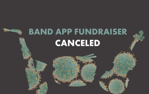 The WHHS Band App Fundraiser is cancelled due to the COVID-19 outbreak and people not having their instruments.
