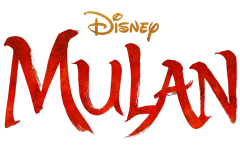 The logo for the remake of Disney's Mulan. Directed by Niki Caro and starring Yifei Liu, the film was released to Disney+ on Sept. 4 2020.