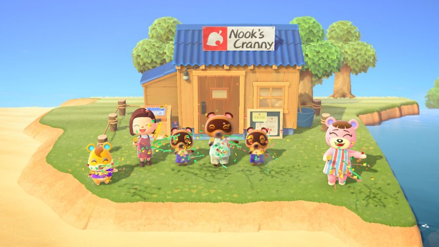 Animal Crossing New Horizons has sold over 22 million copies making it the second most popular Nintendo Switch game.