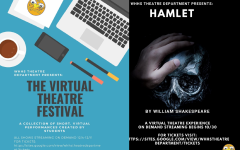The promotional material for two featured performances for the fall 2020 theater season.
