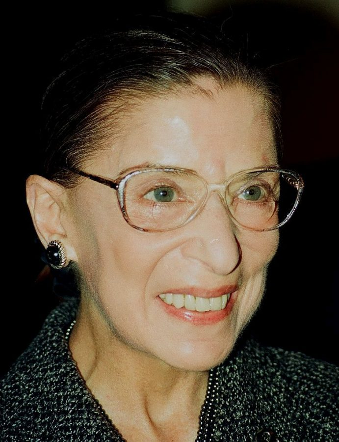 Justice+Ruth+Bader+Ginsburg+was+the+second+female+and+first+Jewish+Supreme+Court+justice.%0A