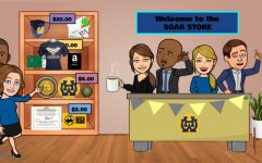 The Virtual PBIS Soar Store displays the different tiers of prizes. The store was created to motivate students to exhibit positive behaviors during school.