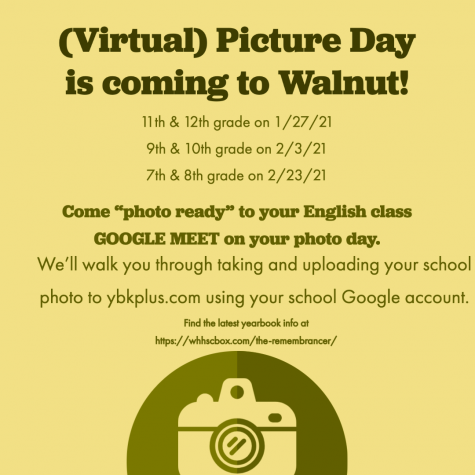WHHS Virtual Picture Day