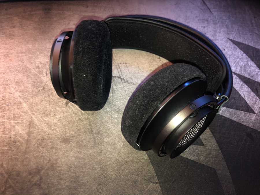 The Philips Fidelio X2HR open-backed headphones are a great beginner pair of high fidelity headphones.
