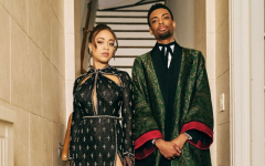 Satchel and Jackson Lee took on the role of the 2021 Golden Globes ambassadors and looked the part, both wearing custom Gucci.