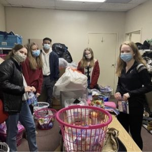 Youth Philanthropy Council is a WHHS club that is involved with local non profit organizations. The club is currently meeting virtually, but has still found a way to make a difference.
