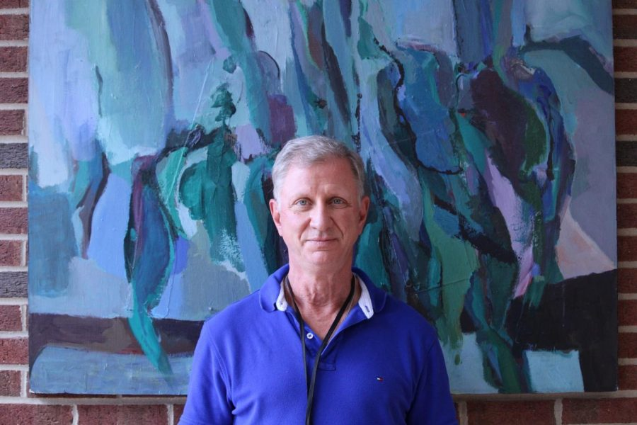 After 33 years of teaching photography, AP Studio Art and pro media design, 18 of them in the WHHS art department, Stocker, a beloved and passionate teacher with a personality just as colorful as his art classes, has decided to end his teaching career.