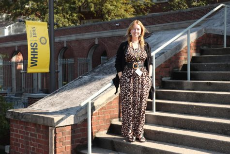 With just a few weeks left until election day, Jaime Castle continues her campaign while being a long-term substitute teacher for WHHS. She teaches English 8AA during bells four and five and sometimes subs for other bells when needed.